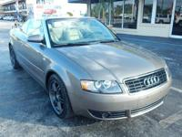Options:  2005 Audi A4 1.8T|***No Dealer
