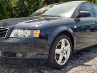 This AWD Audi is a must see!!! It is Loaded up with all
