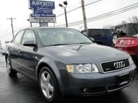 LOCAL TRADE! VERY CLEAN IN/OUT! 1.8 TURBO AWD LEATHER