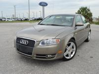 This very clean, low mileage Audi A4 quattro AWD Sedan