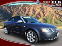 2005 Audi S4 2dr Car CV Our Location is: Elk Mountain