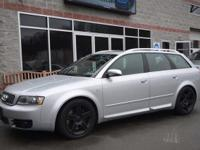 RARE 2005 Audi S4 Wagon featuring a powerful 4.2L V8