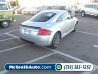 All Wheel Drive!!!AWD*** This terrific 2005 Audi TT