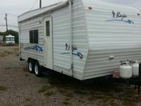 2005 baja 26ft toy hauler roof air condtioning awning