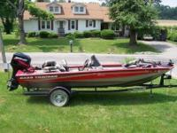 2005 Bass tracker 175 special edition for sale. this