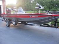 2005 Bass Tracker PT175 Special EditionHas on board