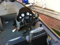 2005 Bass tracker PT 185 boat is in good condition an