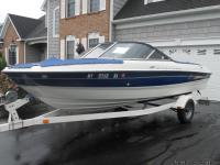 Beautiful model year 2005 18.5 foot Bayliner open bow