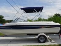 - Stock #070215 - This 10 year old Bayliner and trailer