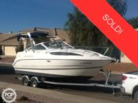 This vessel was SOLD on April 28. This 2005 Bayliner
