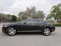 This 2005 Bentley Continental GT Coupe has RARE GREEN /