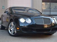 Feel right at home behind the wheel of this Bentley