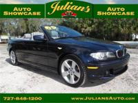 We present to you this 2005 BMW 325Ci Convertible!