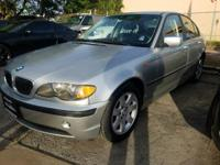 Options:  2005 Bmw 3 Series 325I 4Dr Sedan|Silver|Abs -
