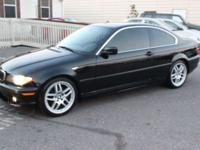 We are selling a BMW 3 Series 330ci Coupe, it has a V6,