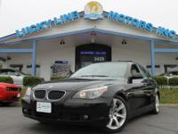 2005 BMW 545I V8 4.4 L WITH TAN LEATHER INSIDE. HAS BMW