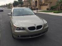 2005 BMW 530i Sedan 117K Miles, Tan Metallic exterior