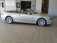 Options:  2005 Bmw 6-Series This Vehicle Has Been