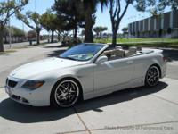 This 2005 BMW 6 Series 2dr 645Ci Convertible features a