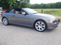 2005 BMW 645ci Convertible 6 speed Sport package,
