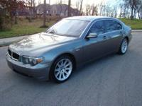 Call Jamie @  2005 BMW 745li 96,000 Miles Over 100k