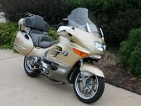 Have a look at this Nice, Gold 2005 BMW K1200 LT. This