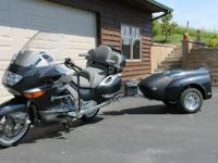 2005 BMW K1200LT. Dark graphite metallic paint- 10540