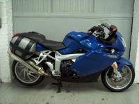 2005 BMW K1200S, with 21112 miles. This bike is in very