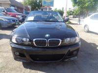 Options:  2005 Bmw 3 Series|Black/Black|6 Speed