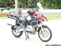 2005 BMW R1200GS with only 9336 miles. Every where I go