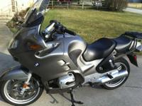 2005 BMW R1150RT This motorcycle was originally an