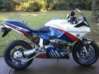 2005 BMW R1100 Boxer Cup with 7482 initial miles. This