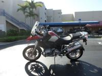 This is a great looking 2005 BMW R1200GS. This bike is