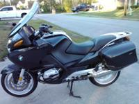 05 BMW R1200RT. This bike is completely geared up with