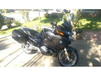 2005 BMW R1200 RT. Runs and starts smooth- Serviced
