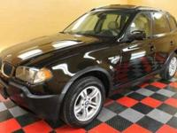 Check out this gently-pre-owned 2005 BMW X3 we recently