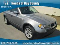 Honda of Bay County presents this 2005 BMW X3 X3 4DR