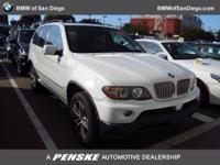 This 2005 BMW X5 4dr X5 4dr AWD 4.4i SUV features a