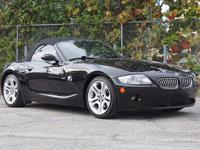 Options:  2005 Bmw Z4 3.0I *** Warranty! Carfax