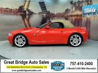 2005 BMW Z4 CARS HAVE A 150 POINT INSP, OIL