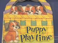 2005 Board Book Puppy Playtime Cuddly Duck Productions