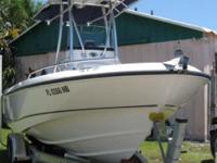 2005 21' Boston Whaler Outrage powered by a 2005 4