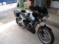 The bike is in great shape with low mileage. It comes
