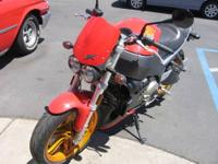 Only 750 miles on this awesome 2005 Buell Lightning