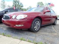 Options:  2005 Buick Lacrosse |Burgundy Exterior|Stock