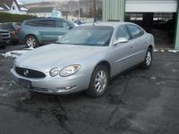 Options:  2005 Buick Lacrosse Cx|SilverGray|115000
