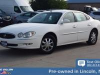 This Buick LaCrosse has a dependable Gas V6 3.8L/231
