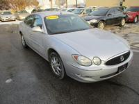 Options:  2005 Buick Lacrosse 4D Sedan Cxl|Silver|Air