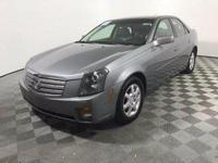 Just Reduced! This 2005 Cadillac CTS in Silver Smoke