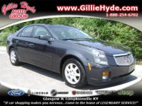WOW! Check out this Like New Cadillac CTS! This Luxury